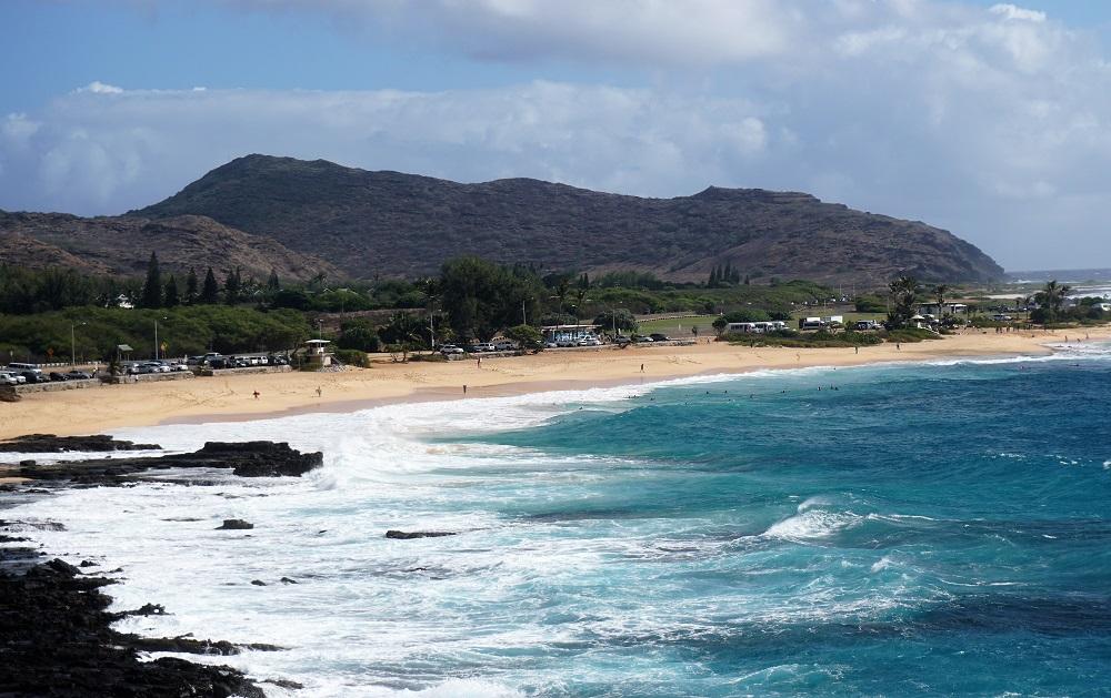 Sandy Beach Park Hawaii