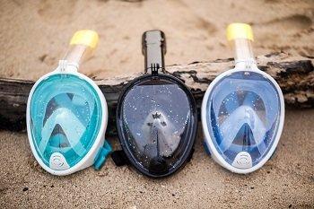 SharkLens Snorkel Mask