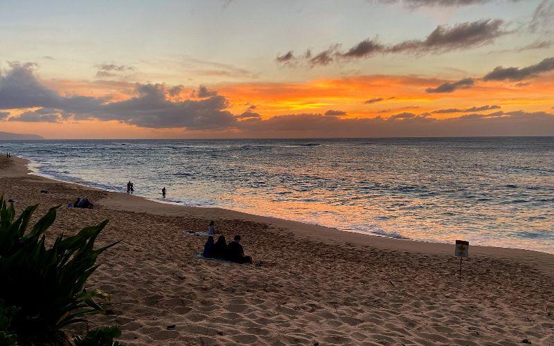Sunset Beach Oahu Sunset