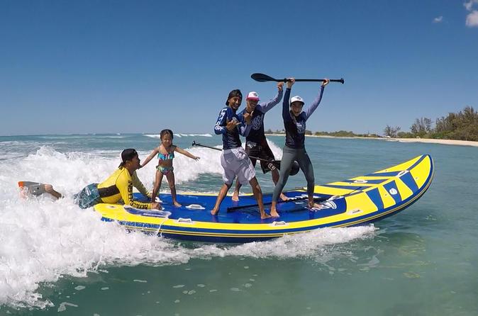 Supsquatch surfing