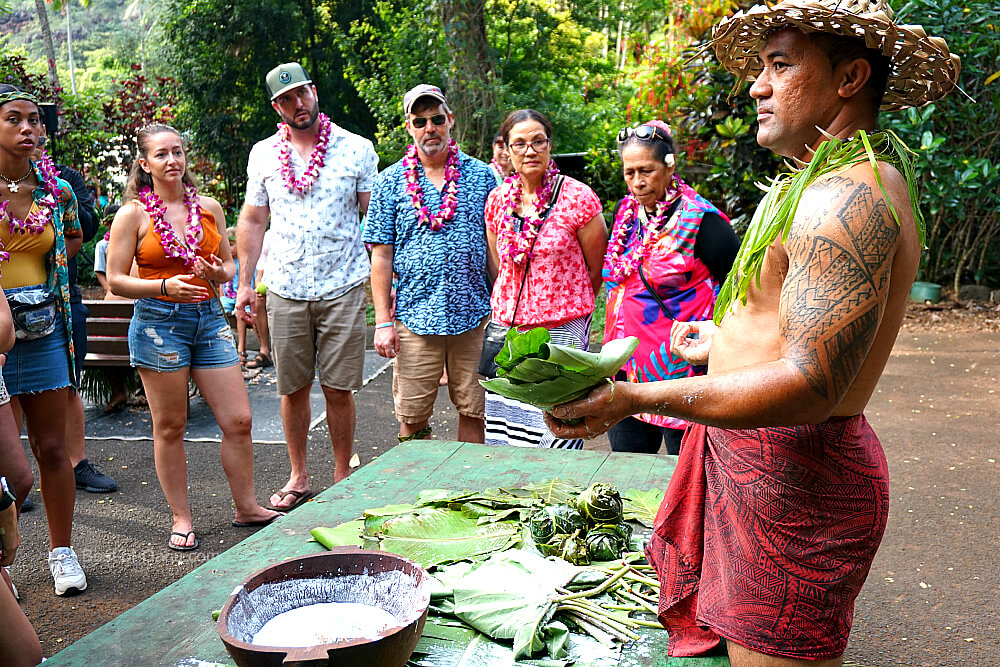 Toa Luau Laulau Activity