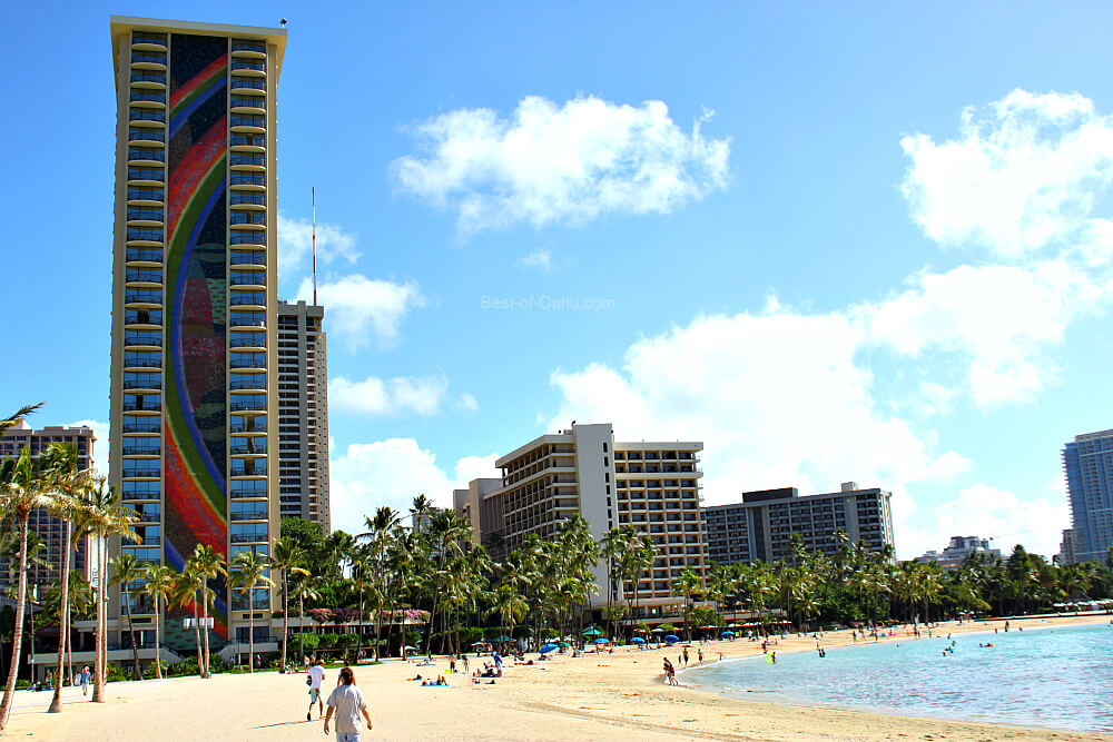 Waikiki Beach Duke Kahanamoku Beach by Hilton Hawaiian Village Hotel