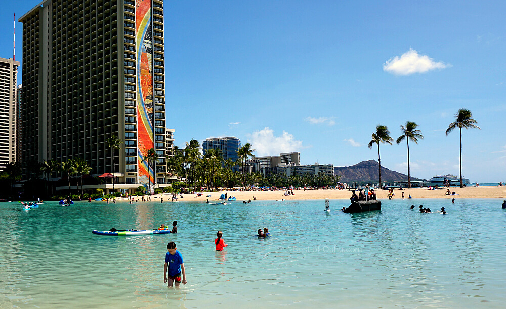 Waikiki Beach Hilton Hawaiian Village Beach