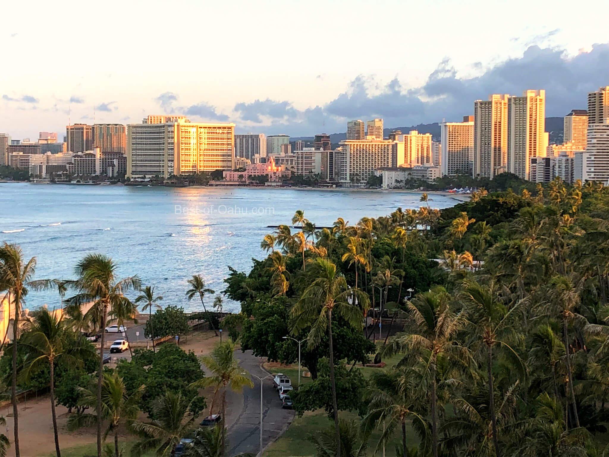 Waikiki Hotel Skyline