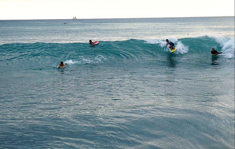 Waikiki Walls Body Boarders