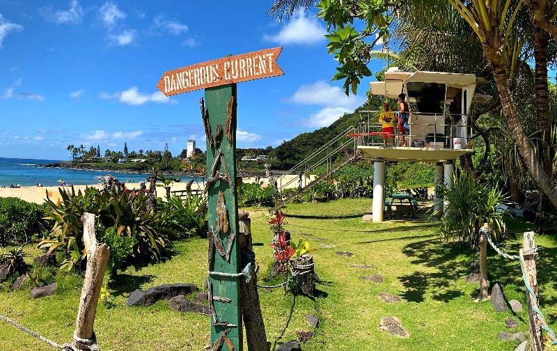 Waimea Bay Lifeguard Station