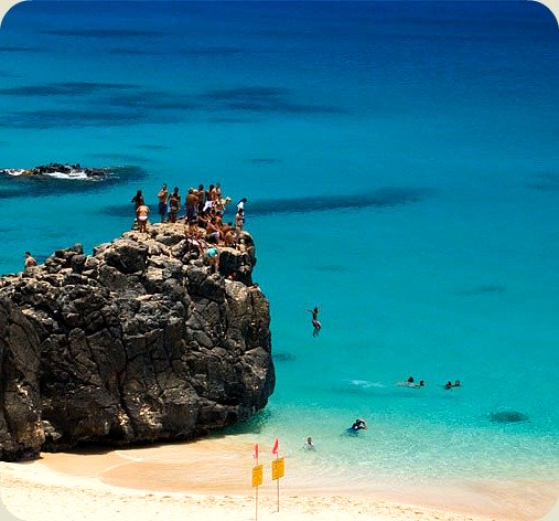 Waimea Bay Jumping Rock