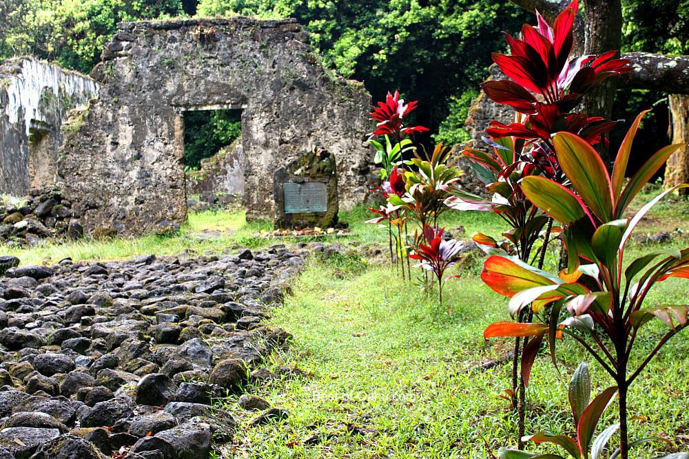 Kaniakapupu Ruins